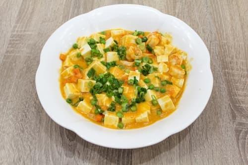 蟹黄豆腐 | Fried Tofu with Crab Roe