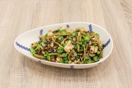 椒麻跳水蛙 | Dry Cook Frog with Sour Bean Szechwan Pepper