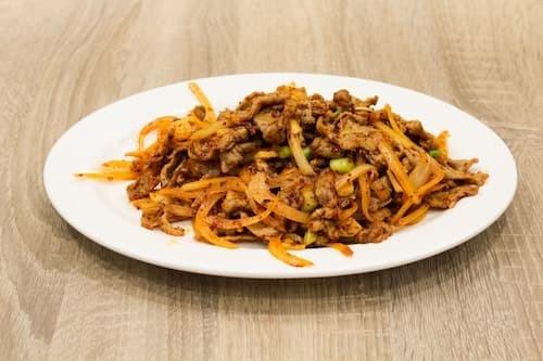 孜然羊肉 | Stir-Fried Lamb with Cumin