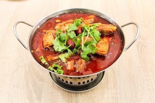 红焖羊排 | Braised Lamb Chops with Chili Sauce