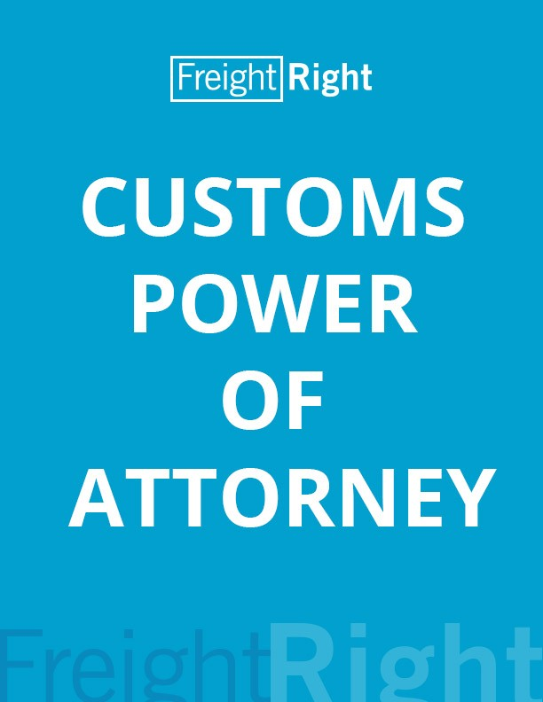 Customs Power of Attorney