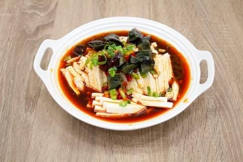 川味皮蛋豆腐 | Szechuan Tofu with Preserved Egg