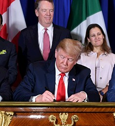 USMCA Replaces the NAFTA
