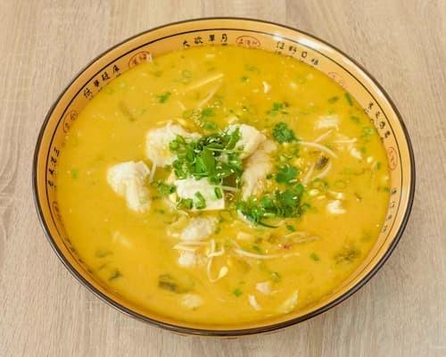 酸菜鱼 | Fish Fillet in Hot Pot With Pickled Cabbage