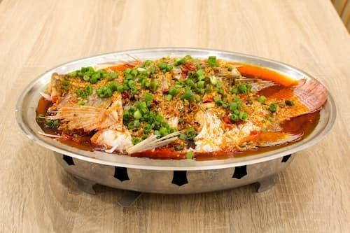 思川味跳水鱼 | Live Fish with  Yellow Chili