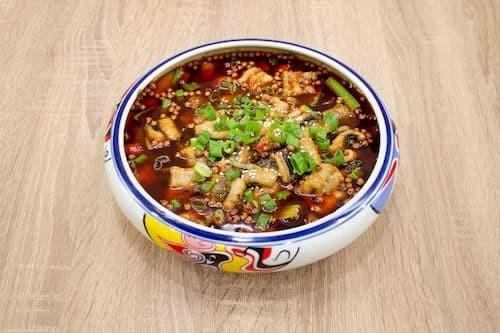 馋嘴黄鳝 | Boiled Finless Eel with Szechwan Pepper